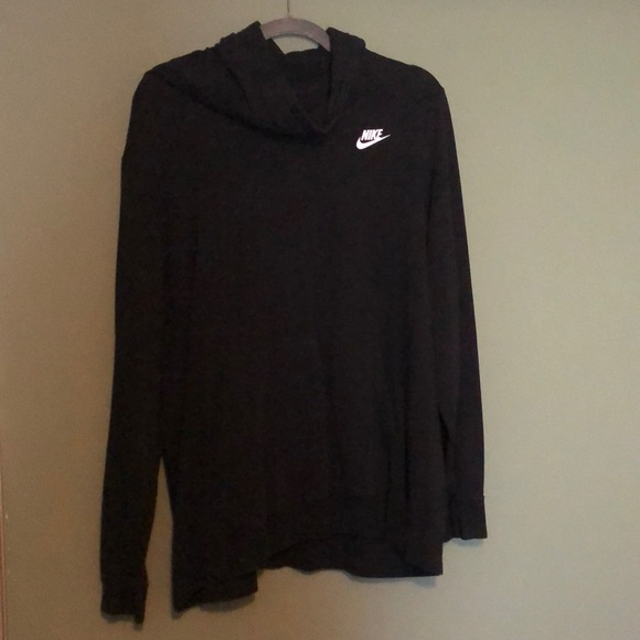 Women's Nike cowl neck hoodie black 1x